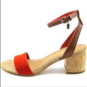 Coach Red Thompson Sandals